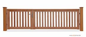 gartentor roof hochwertige holztore in premium tischlerqualit t mit komplettem edelstahl zubeh r. Black Bedroom Furniture Sets. Home Design Ideas