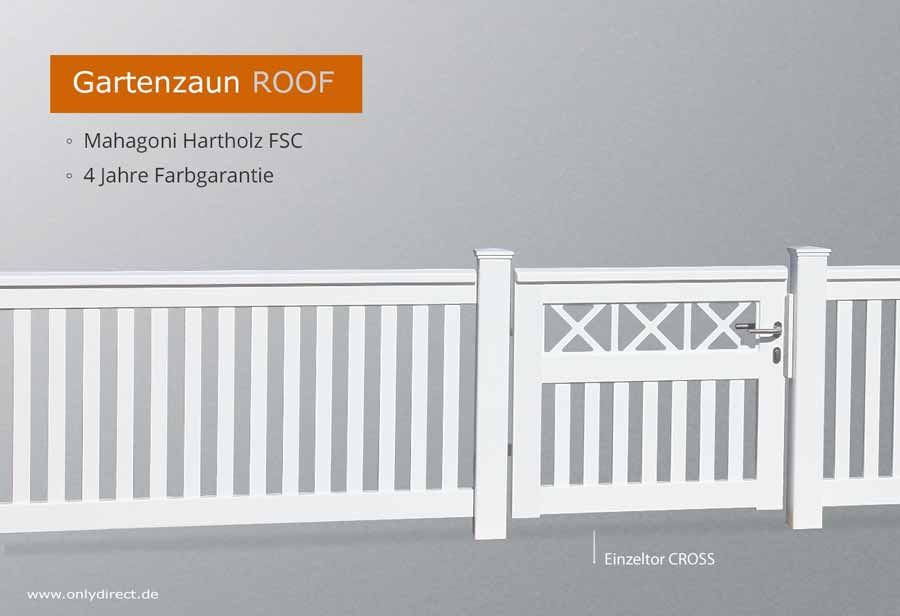 premium gartenzaun fsc hartholz mahagoni holz oder nord l rche ma anfertigung aus deutschland. Black Bedroom Furniture Sets. Home Design Ideas