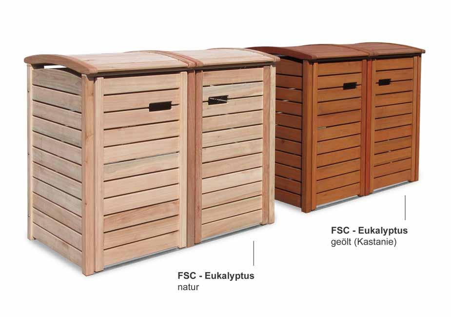 2er 3er m lltonnenbox classic f r 120 liter 240 liter m lltonnen edelstahl zubeh r. Black Bedroom Furniture Sets. Home Design Ideas